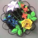 Оригами - роза для начинающих (смотреть онлайн)