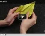 Поделки оригами - свеча (видео обучение)