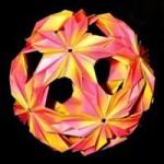 Оригами кусудама (обучение онлайн Часть 1)