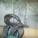 Змея оригами (обучающее видео)