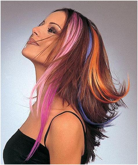 Как правильно красить волосы