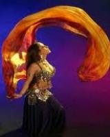Танец с шалью от Юлии Кайдаш (обучающие курсы)