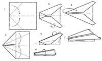 Оригами самолет (обучающий урок)