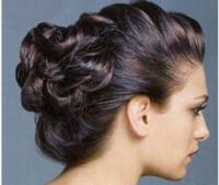 Красивый пучок из волос (обучающее видео)