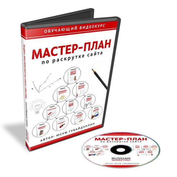 Мастер-план по раскрутке сайта