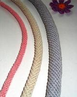 Вязание жгута-гусенички крючком