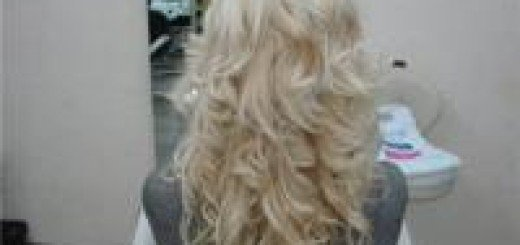 Прически с нарощенными волосами