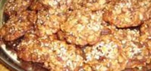 Печенье из овсяных хлопьев