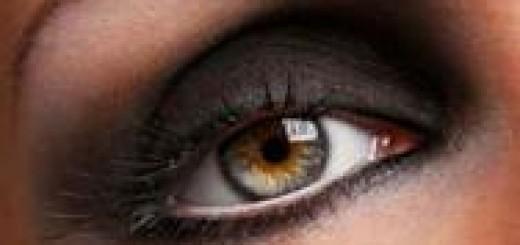Глаза смоки айс