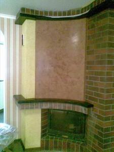 Декоративная краска лазурь для отделки стен