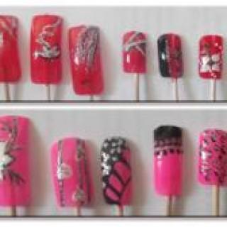 Просто дизайн ногтей