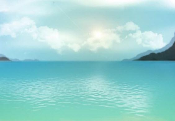 Морской пейзаж из фильтров