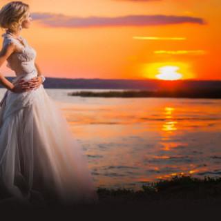 Свадебный комплект из бисера