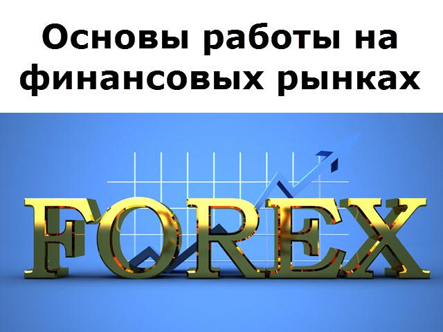 Основы работы на финансовых рынках