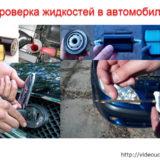 Проверка жидкостей в автомобиле (видео урок)