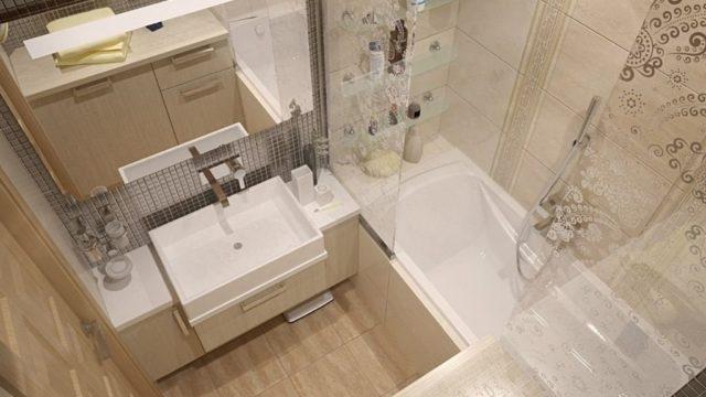 Плитка для маленькой ванной
