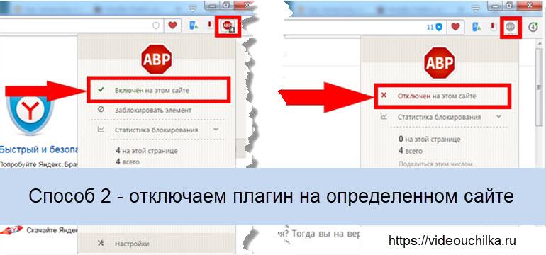 Как отключить Adblock в браузерах Google Chrome, Opera, Microsoft Edge, Яндекс Браузер, Safari, Mozilla Firefox
