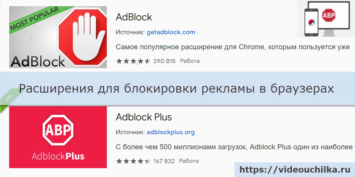 Как отключить Adblock в браузерах Google Chrome, Opera, Microsoft Edge, Яндекс Браузер, Safari, Mozilla Firefox