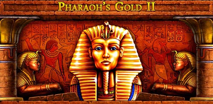 Описание игрового автомата «Pharaohs Gold II»
