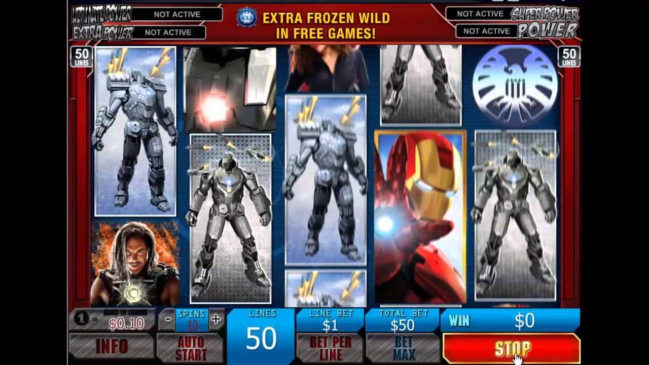 Железный человек - игровой автомат онлайн