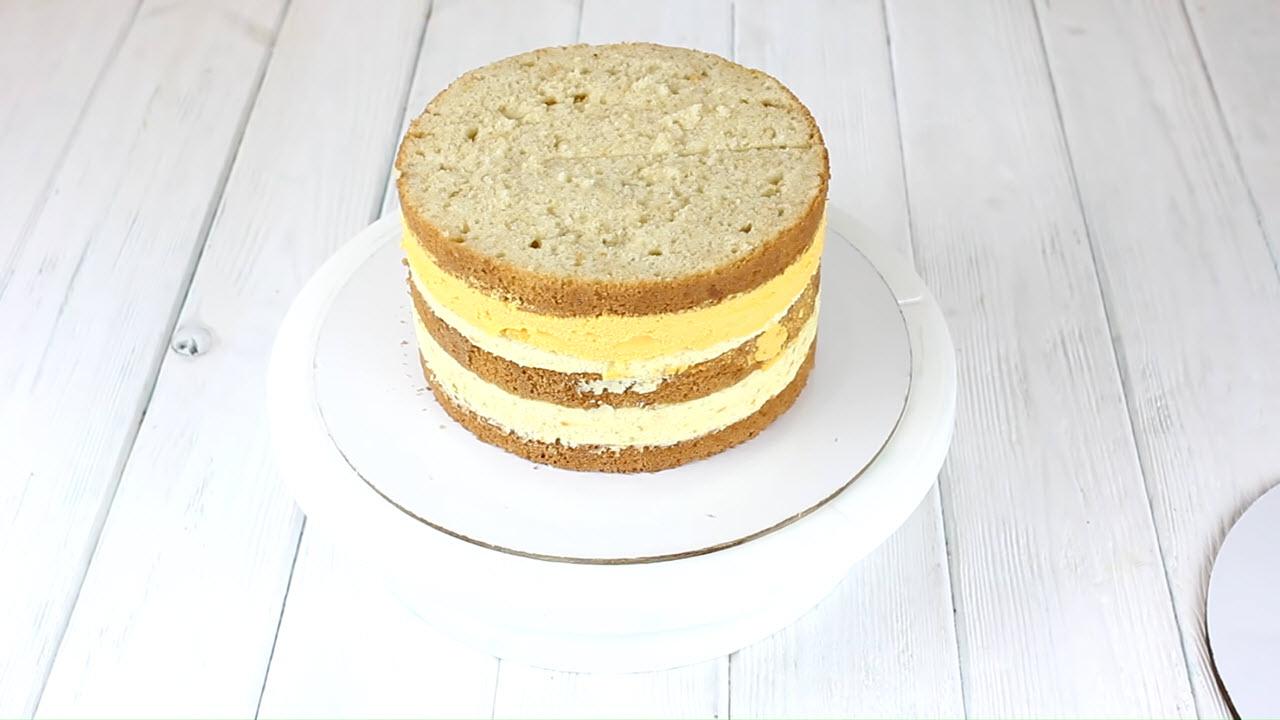 Облепиховый торт с 4 начинками