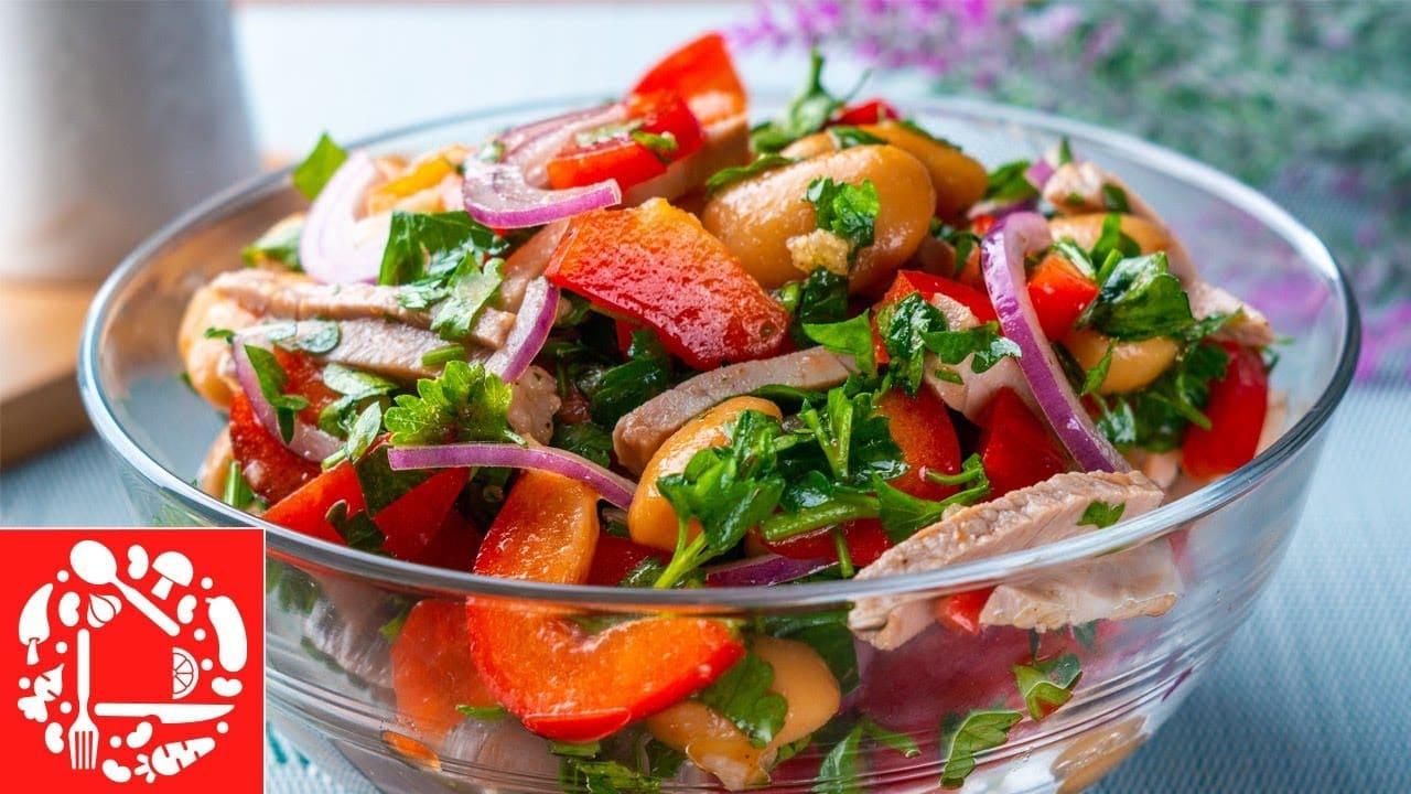 Салат по-грузински без майонеза
