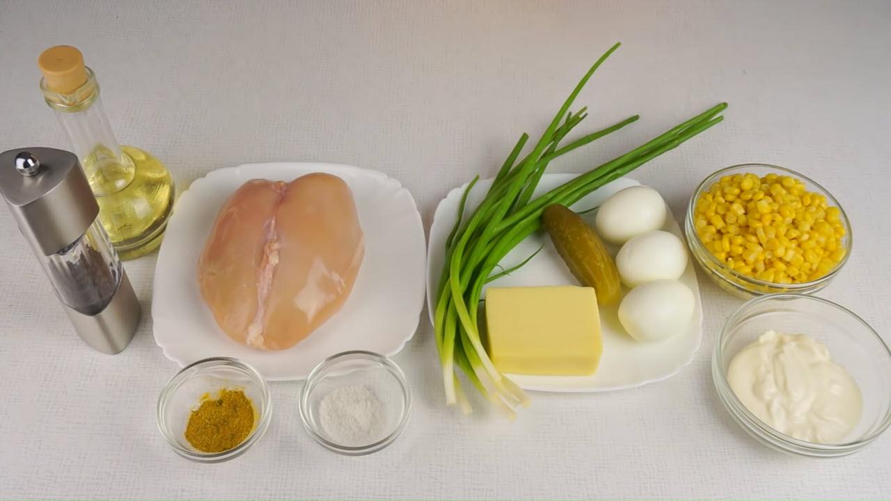 Салат «Сказочная поляна» - ингредиенты
