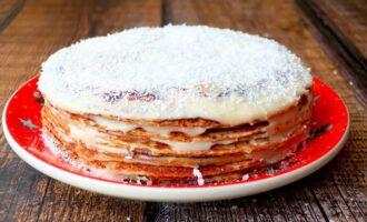 Блинный торт Медовик
