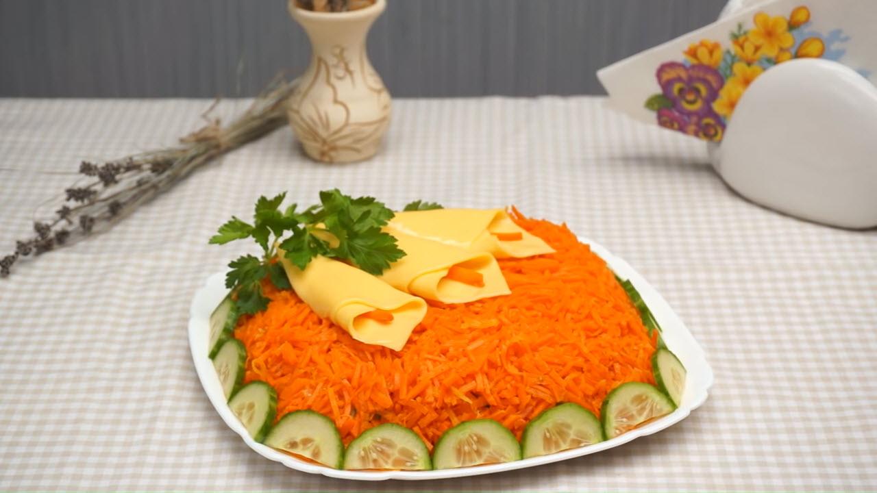 Весенний салат на 8 Марта