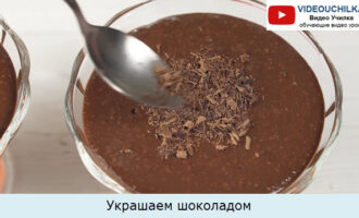 Украшаем шоколадом